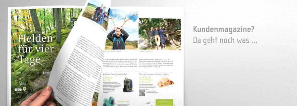 Monatsthema Kundenmagazine