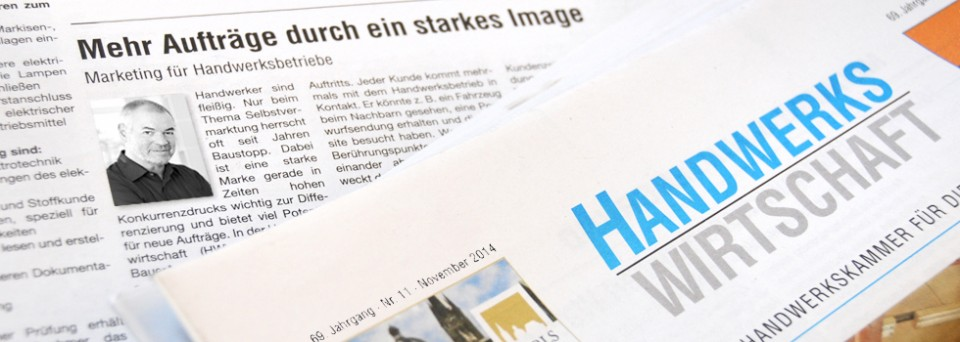 News: Handwerker-Marketing_Interview_Handwerkswirtschaft